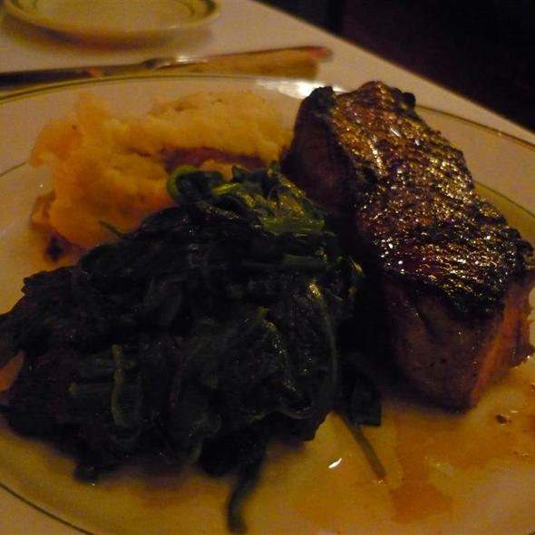 Angus New York Strip @ City Lobster