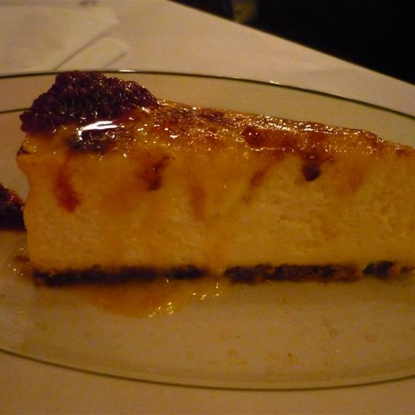 Creme Brulee Cheesecake @ City Lobster