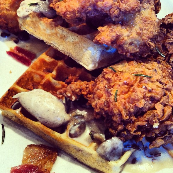 Ad Hoc - Fried Chicken and Waffles - Foodspotting