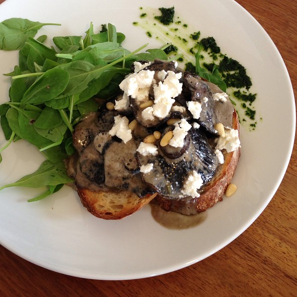 mushrooms @ The Fridge