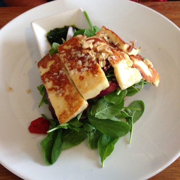 Haloumi Sandwich @ The Fridge