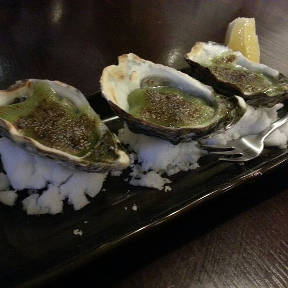 Wasabi Oysters