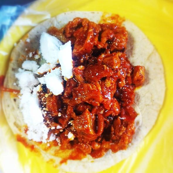 Taco De Chicharron @ Tacos Gus