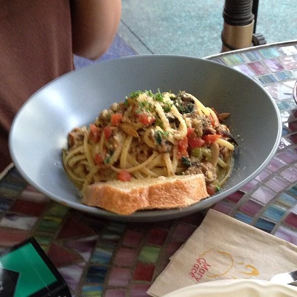 Spanish Sardines & Olives Pasta @ Cafe Mary Grace
