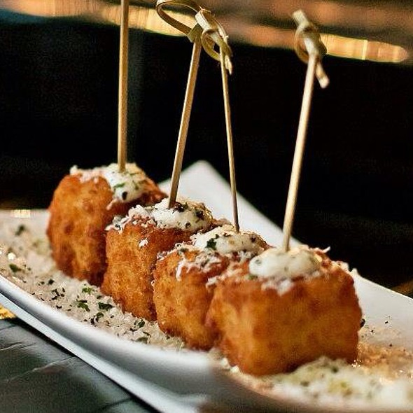 Fried Mac & Cheese - Bond Street Social, Baltimore, MD