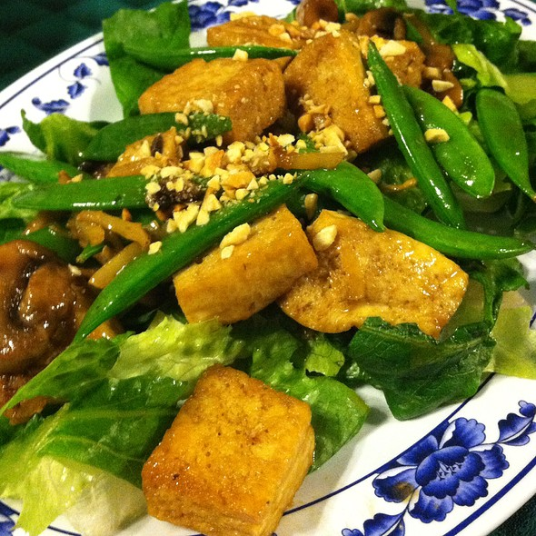 Veggie Ginger Tofu @ Singapore Cafe