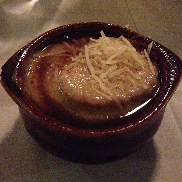 French Onion Soup - Village Tavern Scottsdale, Scottsdale, AZ
