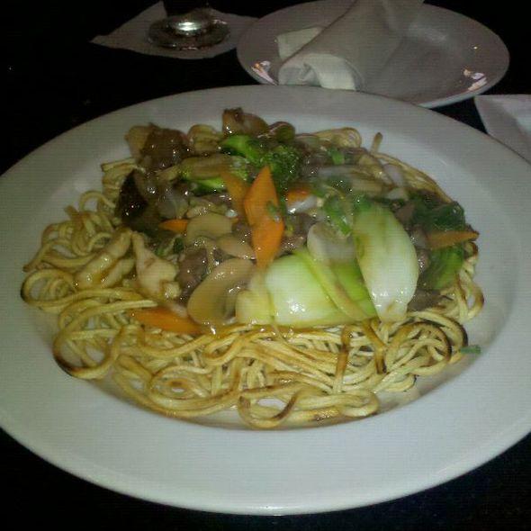 Three Ingredient Pan Fried Noodles @ Dragon's Den