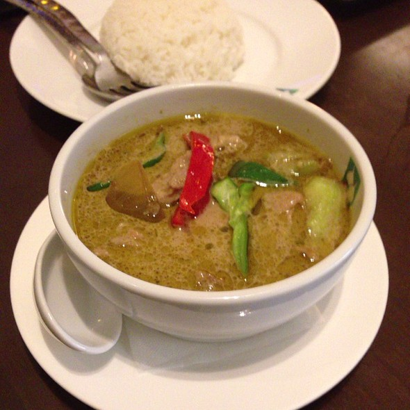 Green Curry @ バンコクキッチン 自由が丘店