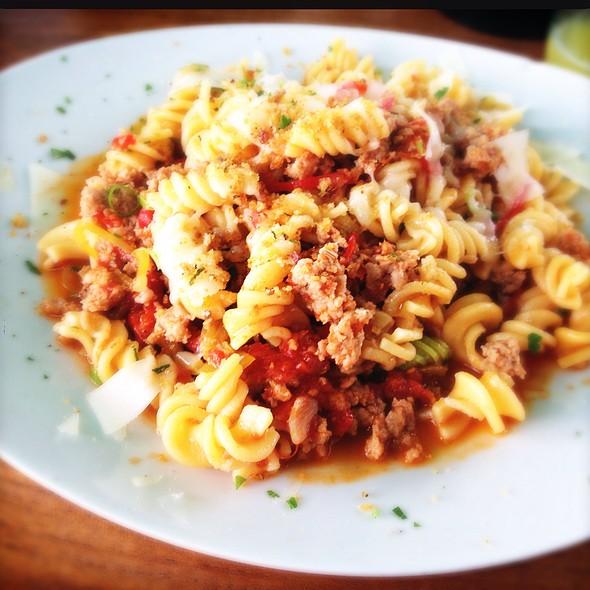 fusilli with salsiccia #pasta @ Gaststätte Bar Olio