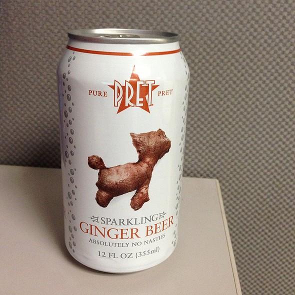 Ginger Beer @ Pret A Manger