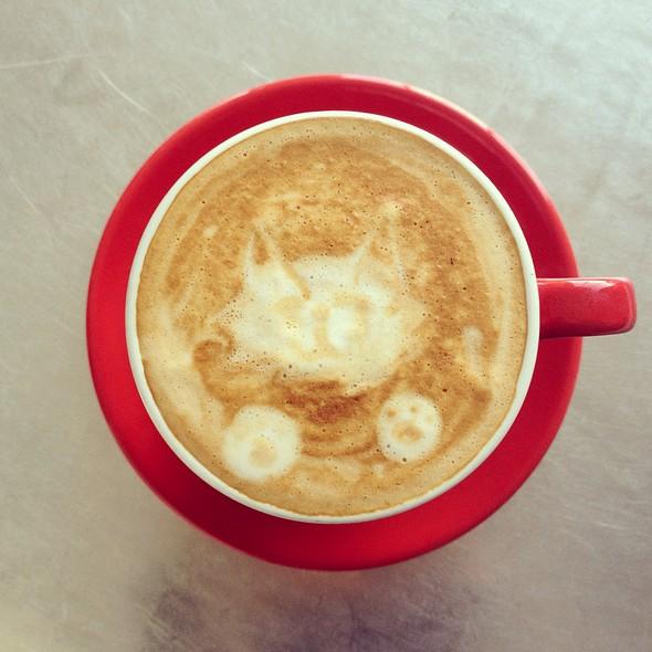 Soy Latte @ Elite Audio Coffee Bar