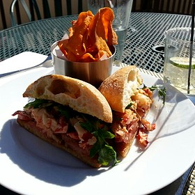 Lobster Bacon Roll