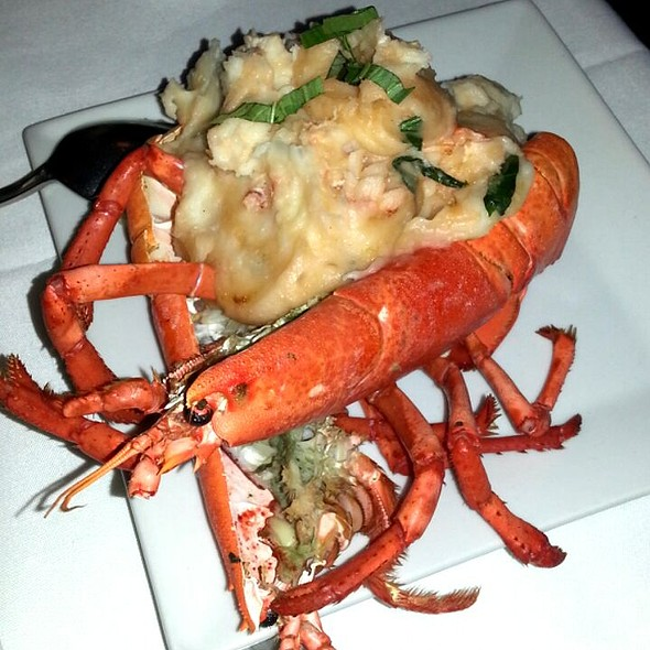 Lobster Mashed Potatoes - Christos Steak House, Astoria, NY