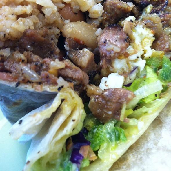 Pork Sisig Burrito @ Señor Sisig Food Truck