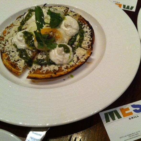 Cremini Mushroom Quesadilla @ Mesa Grill