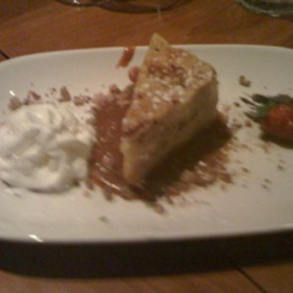 Heath Bar Crunch Bread Pudding @ City Cafe Inc