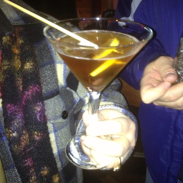 Ginger Green Tea Martini - Edibles Restaurant, Rochester, NY