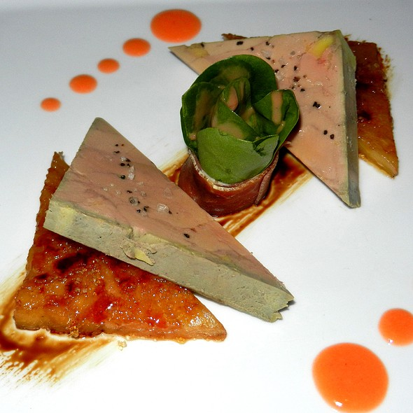 Foie Gras Terrine - Alizé at the Top of the Palms Casino Resort, Las Vegas, NV
