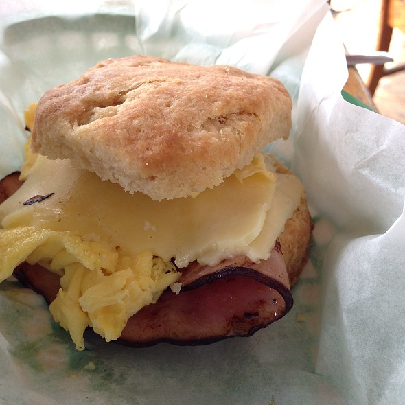 Biscuit Breakfast Sandwich @ Steamers