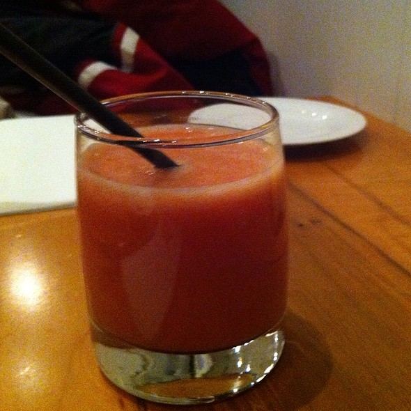 Strawberry And Guava Juice @ Oliver & Bonacini Cafe Grill