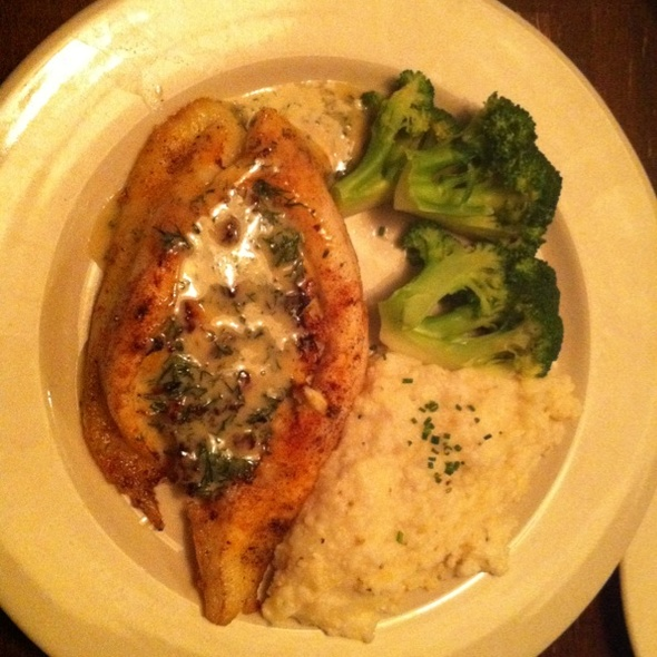 Crab Stuffed Flounder @ Virginia's On King