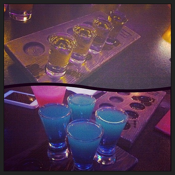 Birthday shots with the birthday girl :D @tifffyylee @ Ebisu On Robson