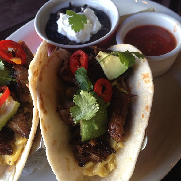 Breakfast Tacos @ Barbrix