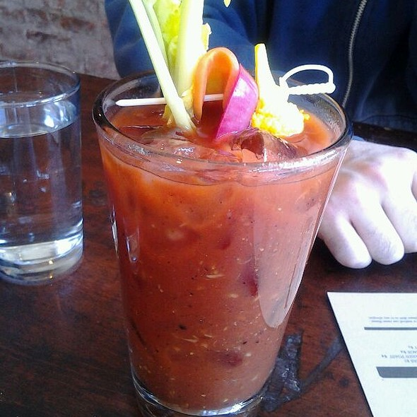 Bloody Mary - Hunter's, Brooklyn, NY