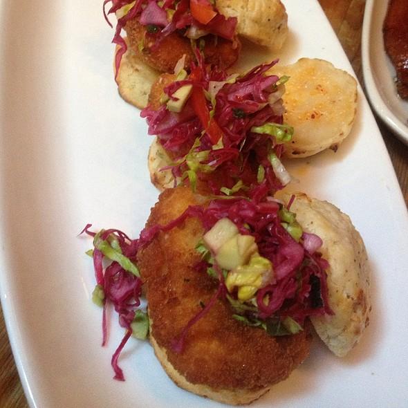 Fried Chicken Biscuit Bites @ Beauty & Essex