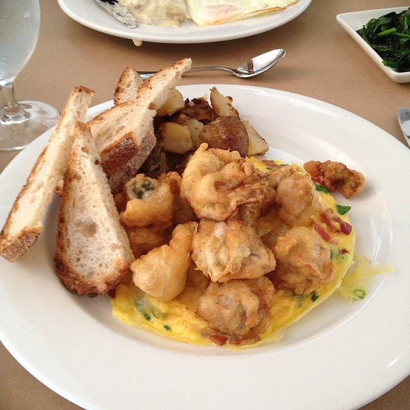 hangtown fry at Stone Park Cafe