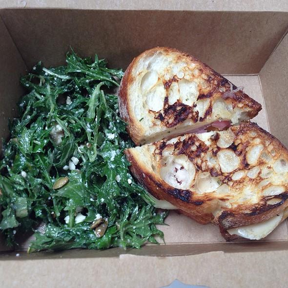 Turnip Sandwich @ Darwin Cafe