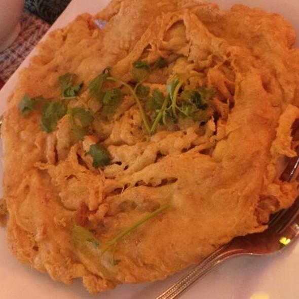 Thai Omelette with Minced Pork @ Royal Krua Thai