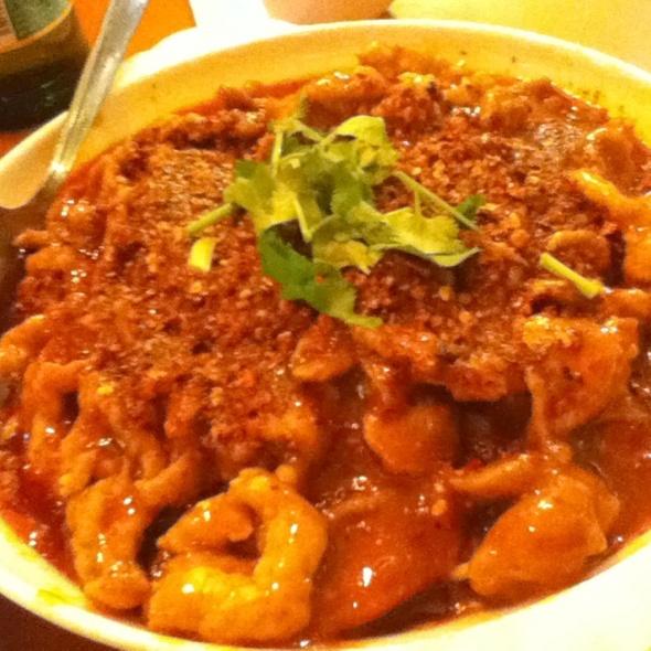 Braised Pork W/ Napa & Roasted Chilli @ Szechuan Gourmet
