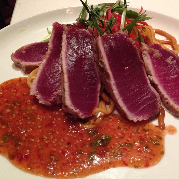 Ahi tuna - Parkers' Restaurant & Bar, Downers Grove, IL