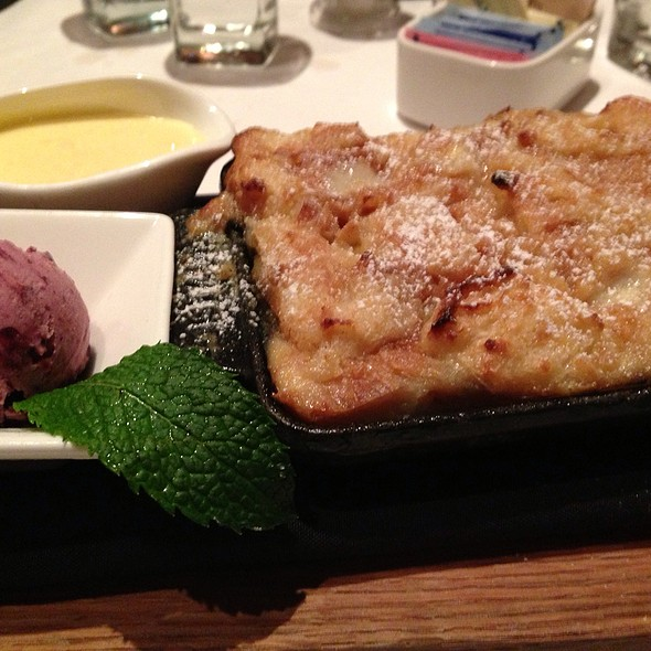 Apricot Bread Pudding  - Parkers' Restaurant & Bar, Downers Grove, IL