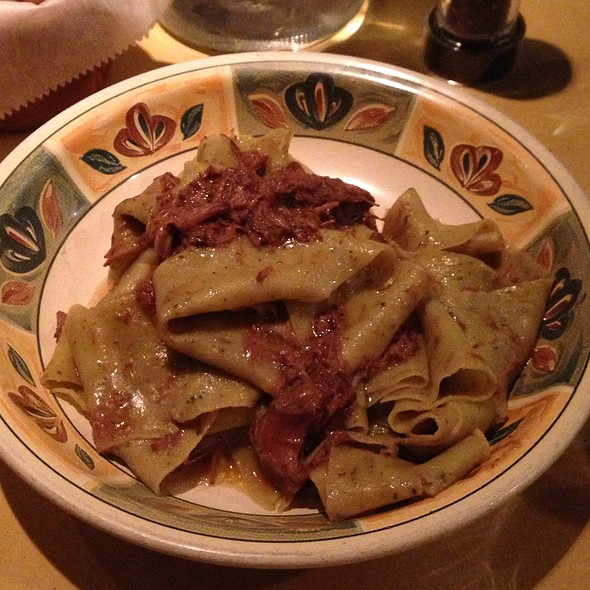Sage Pappardelle With Braised Wild Boar - Locanda Vini e Olii, Brooklyn, NY