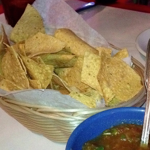 Tortilla Chips At El Patio Restaurant