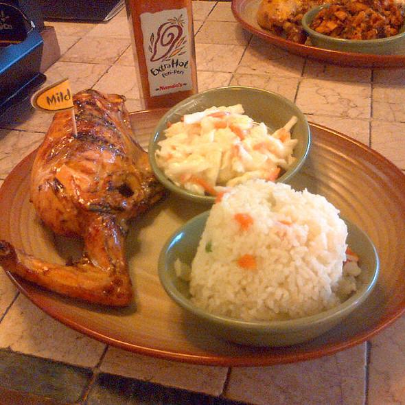 Peri-Peri Chicken and Portuguese Rice @ Nando's @ Sungei Wang Plaza