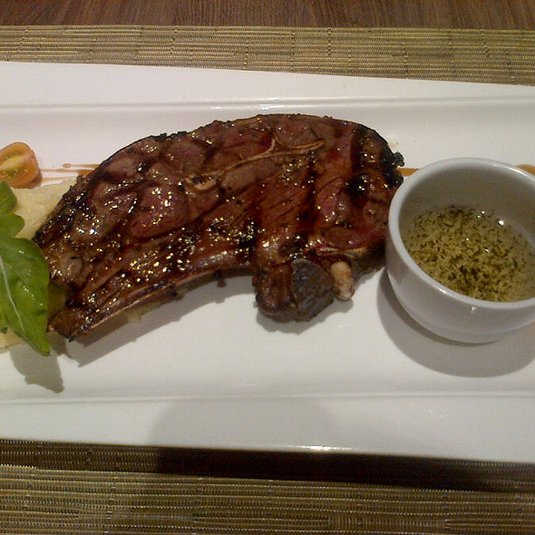 Lamb Steak @ Tito Chef Restaurant and All Things Culinary