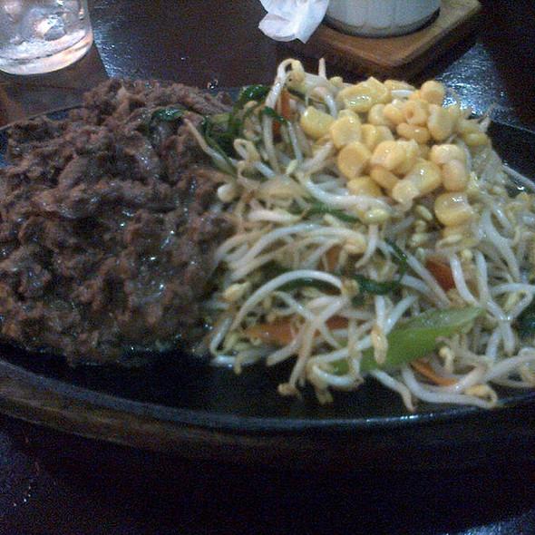 Beef Teppanyaki @ Shinjuku