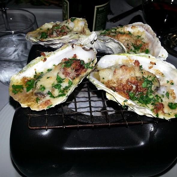 Hibachi Bbq Oysters - La Tour, Vail, CO