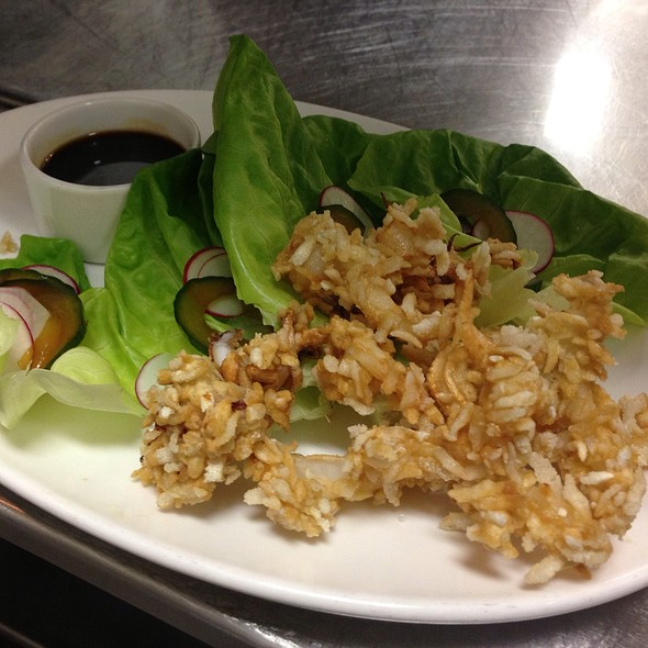 Squid Lettuce Wrap