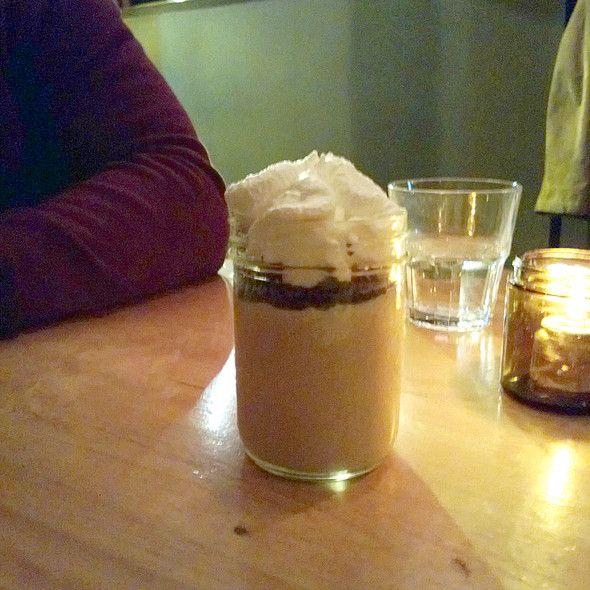 Butterscotch Bourbon Pudding @ Hopgoods Foodliner