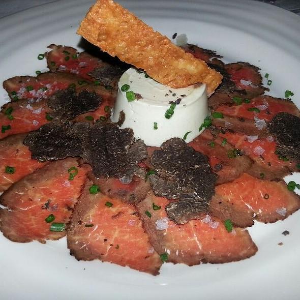 Beef Carpaccio W Black Truffles - La Tour, Vail, CO