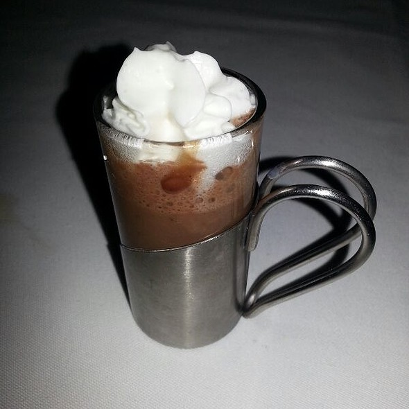 Hot Chocolate Shot @ La Tour Restaurant