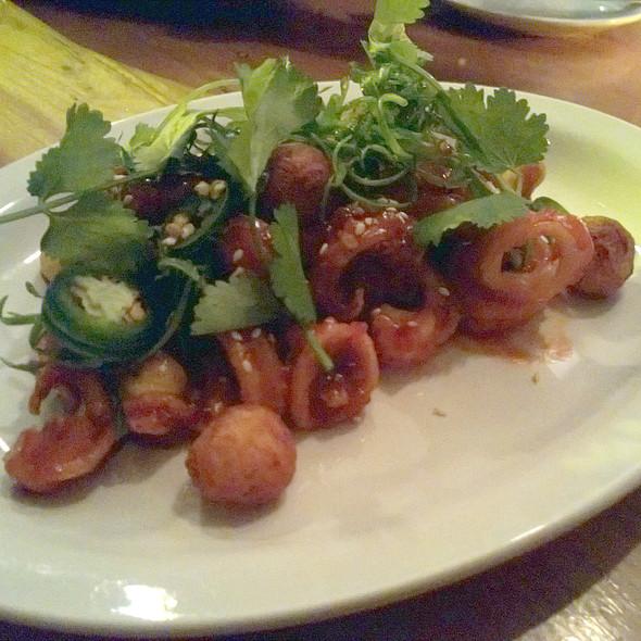 Crispy Squid @ Hopgoods Foodliner
