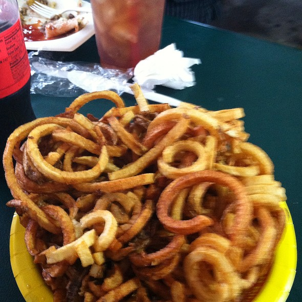 Curly Fries @ Houston Livestock Show And Rodeo