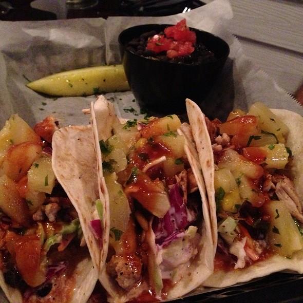 Shrimp Tacos @ Riptides Raw Bar & Grill