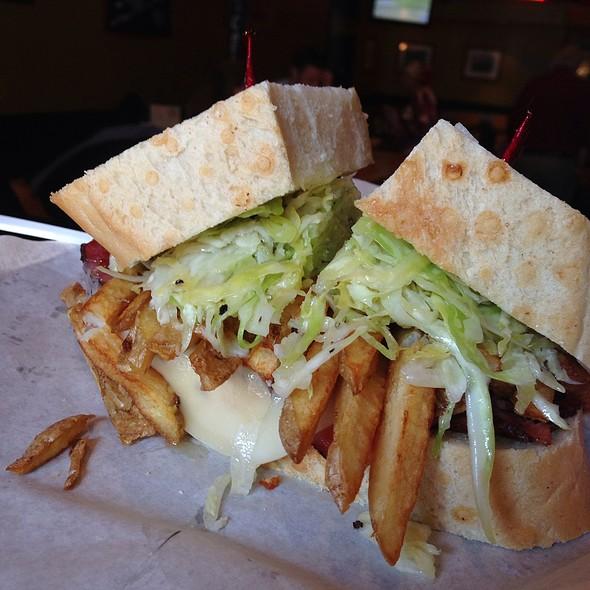 Pastrami Sandwich @ Giordano Brothers